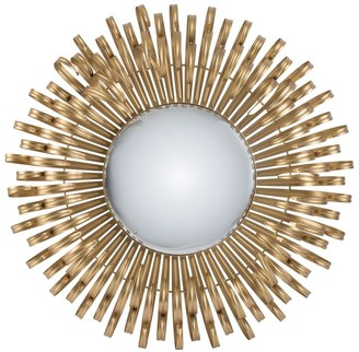 Phil Bee Interiors Lion Mirror Gold