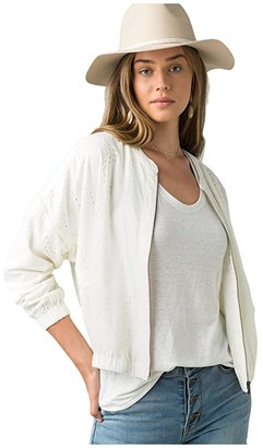 Prana Barlow Jacket (Soft White) Women's Jacket