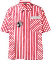 Lanvin boxy striped shirt - men - Cotton - 40