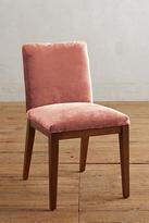 Anthropologie Slub Velvet Emrys Chair