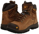Caterpillar Diagnostic Hi WP Steel Toe (Dark Beige) Men's Work Boots