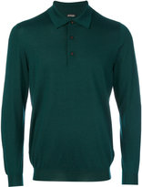 Kiton knitted polo shirt - men - Silk/Cashmere - M