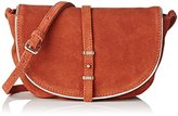 Petite Mendigote Women's Solal Cross-Body Bag Brown