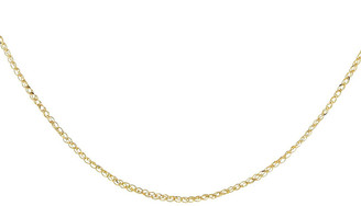 Adina's Jewels 14k Yellow Gold Interlocked Link Chain Necklace