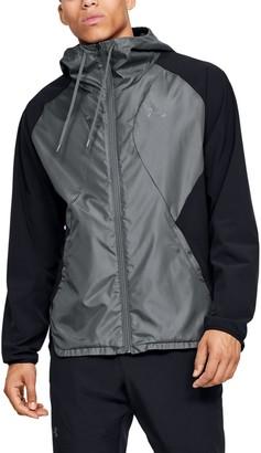 Under Armour Men's UA Stretch Woven Full Zip Jacket