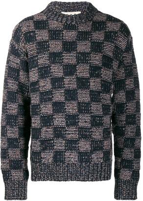 Marni checkered jumper