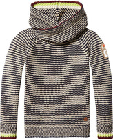 Scotch & Soda Knitted Twisted Hoodie