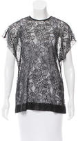 Lover Lace Short Sleeve Top