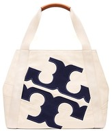 Tory Burch Beach Logo Tote