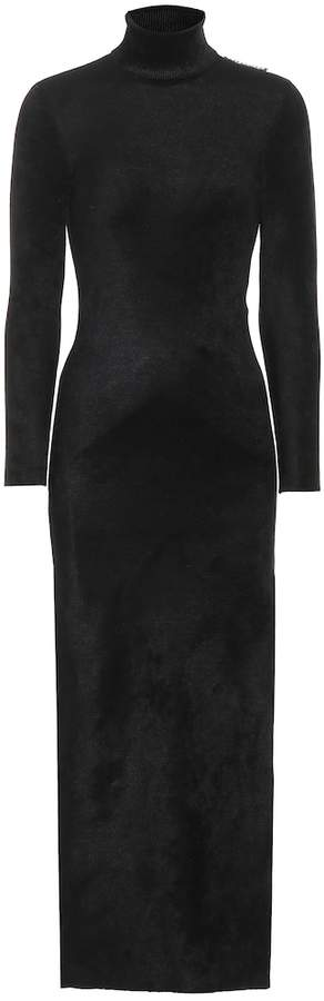 86ac2c3cd92 Black Velvet Turtleneck - ShopStyle