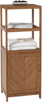 Creative Bath Creative BathTM Eco Styles Bamboo 3-Shelf Tower with Cabinet