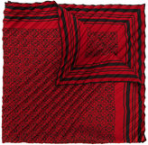 Loewe pleated Anagram print scarf