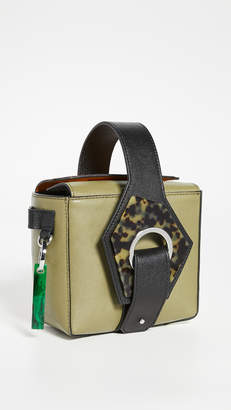 Ganni Mini Wristlet Bag