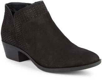 Lucky Brand Brintly Leather Ankle Boots