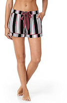Kensie Striped Sleep Shorts