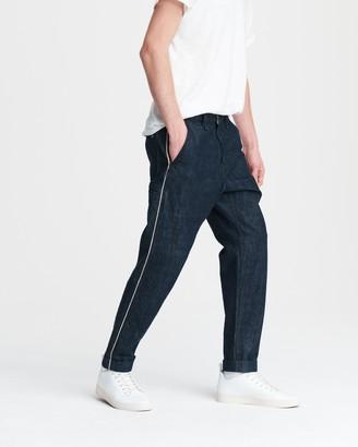 Rag & Bone Selvedge stripe jean in indigo