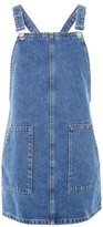 Topshop PETITE Pocket Mini Pinafore Dress