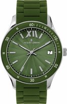 Jacques Lemans Men's 1-1622N Rome Sports Sport Analog with Silicone Strap Watch