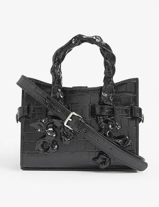 Ottolinger Sofia croc-embossed vegan leather bag