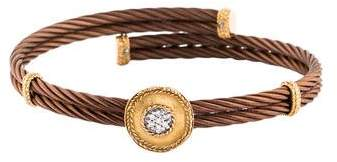 Charriol Diamond Station Bracelet