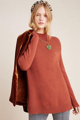 Anthropologie Welford Tunic Sweater By in Brown Size XS