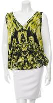 Jean Paul Gaultier Soleil Printed Sleeveless Top w/ Tags