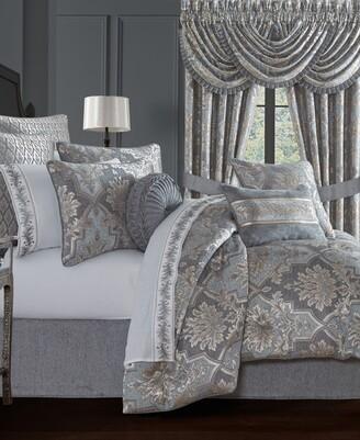 J Queen New York Woodhaven 4 Piece Comforter Set, Queen Bedding