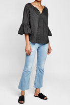 Velvet Celina Cotton Tunic Blouse