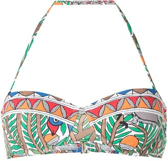 Tory Burch Colour-Blocked Underwire Bikini Top