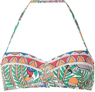 Tory Burch Colour-Blocked Underwire Bikini Top