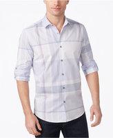 Alfani Men's Classic-Fit Nathan Plaid Shirt, Created for Macy's