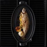 Emile Henry Flame Fish Griller Slate