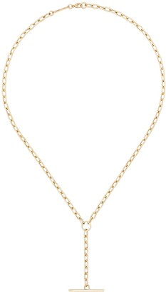 Zoë Chicco 14kt Gold Link Bar Necklace