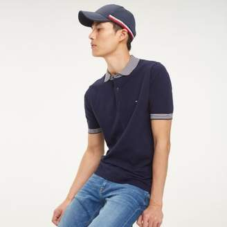 Tommy Hilfiger Stripe Collar Knitted Polo