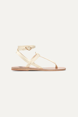 Ancient Greek Sandals Estia Leather Sandals - Off-white