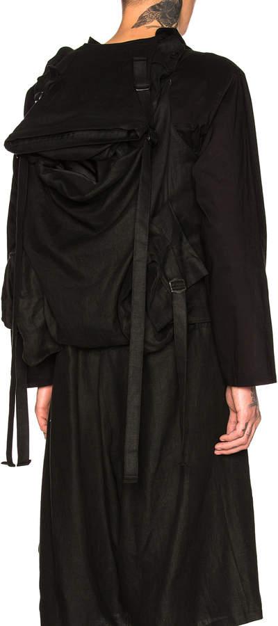 Yohji Yamamoto Bag Peak Vest