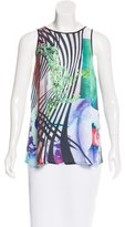 Clover Canyon Abstract Print Sleeveless Top w/ Tags