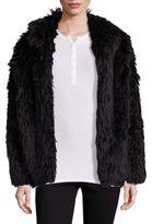 Fabulous Furs Llama Faux-Fur Jacket