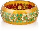 Mark Davis Women's Bakelite & Gemstone Bangle