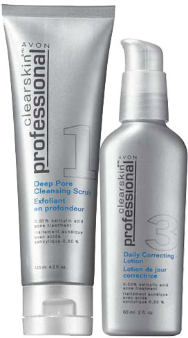Avon Clearskin® Professional 2-Piece Skincare Collection