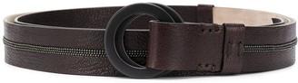 Brunello Cucinelli Double Hoop Belt