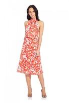 Adrianna Papell Tea Time Floral Bias Dress