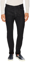 Rick Owens Berlin Cut Scrub Slim Fit Jeans