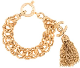 Chanel Pre Owned 1993 Chain Bracelet