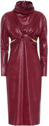 Stella McCartney Willow faux leather dress
