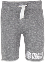 Franklin & Marshall Grey Melange Cotton Shorts