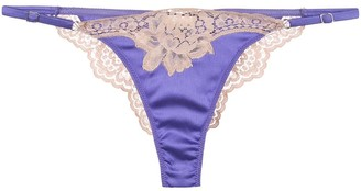 Fleur Du Mal James Lace Cheeky thong