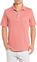 Faherty Men's Slub Jersey Polo