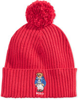 Polo Ralph Lauren Men's Ski Bear Pom-Pom Hat