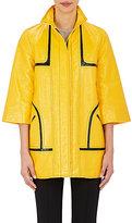 Lisa Perry Women's Cotton-Blend Vinyl Raincoat
